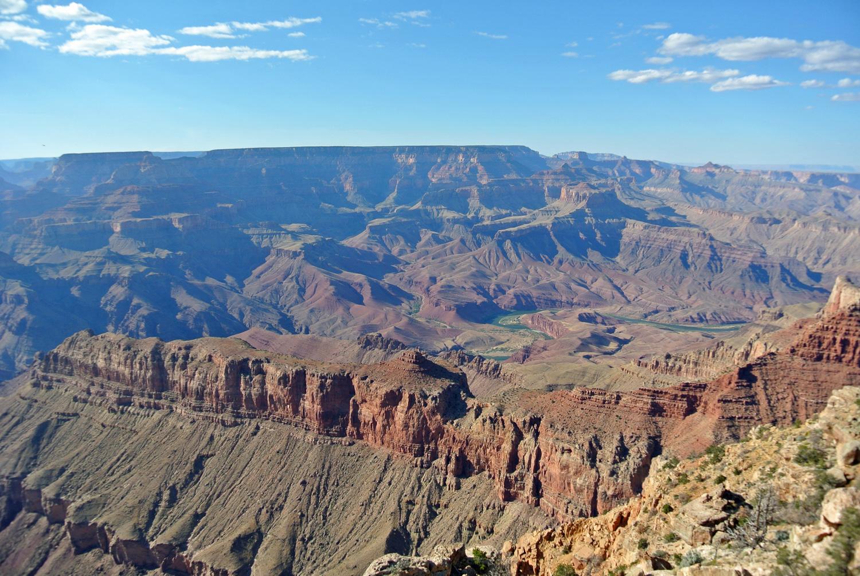 Aussicht am Desert View Drive