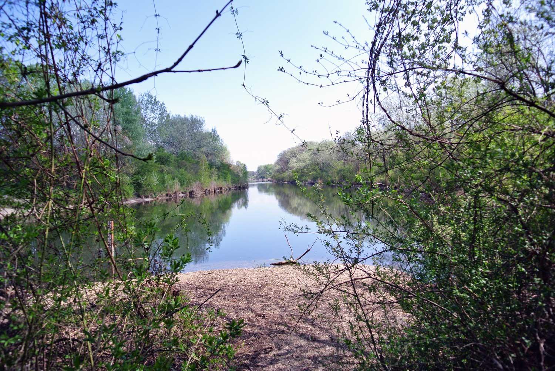 Wandern In Der Lobau Bibergehege Rundweg Christine Unterwegs