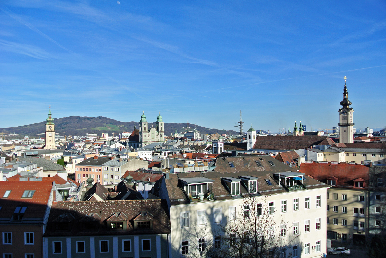 Blick in die Linzer Altstadt